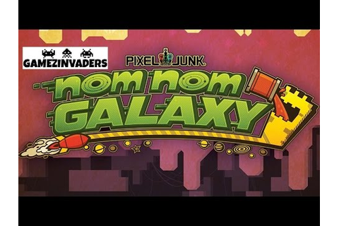 Pixel Junk NOM NOM GALAXY Free PS4 Game! PlayStation Plus ...