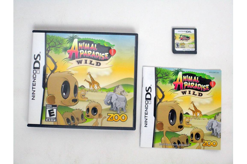 Animal Paradise Wild game for Nintendo DS | The Game Guy