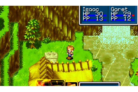 Golden Sun - Game Boy Advance trucchi - RetroGames Planet