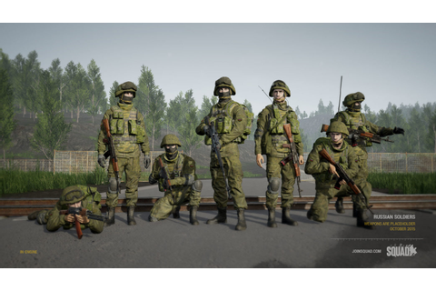"New Squad Update Includes ""First Iteration of Modding ..."
