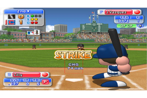 MLB Power Pros 2008 PS2 Baseball (PCSX2) 60fps - YouTube