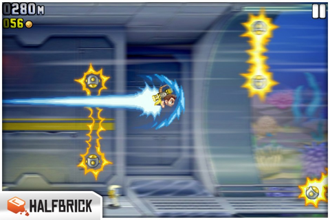 Review: Jetpack Joyride - The greatest jetpack game ever ...