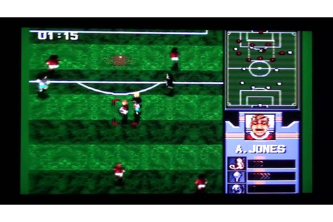 AWS Pro Moves Soccer - Sega Genesis Review #162 (Retro ...