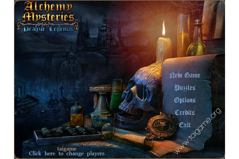 Alchemy Mysteries: Prague Legends - Download Free Full Games | Hidden ...