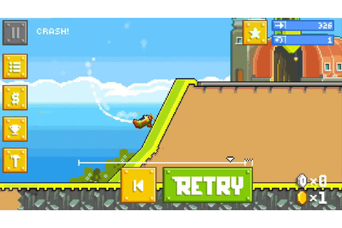 RETRY (iPhone / Android) Gameplay Video - YouTube