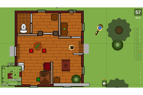 Image - Screenshot of surviv.io - 2d battle royale game (3 ...