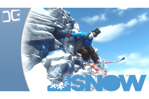 SNOW The Game - A Beautiful Open World Skiing Simulation ...