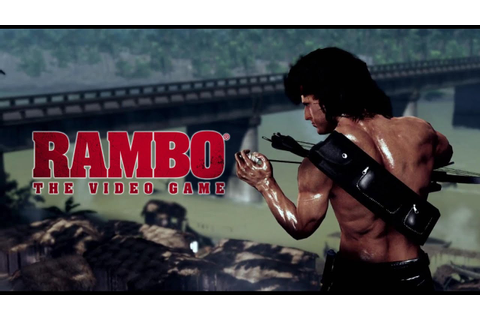 RAMBO ® THE VIDEO GAME - Reveal Trailer - YouTube