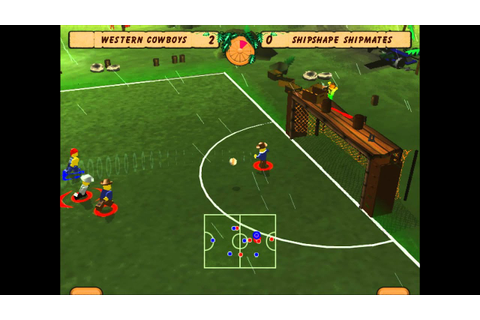 LEGO Soccer/Football Mania - Quick Start - Match #4 - YouTube