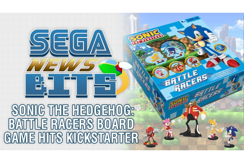 Sonic the Hedgehog: Battle Racers Board Game Hits ...