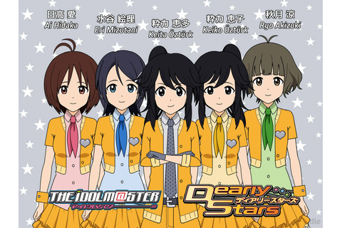 Dearly Stars + OCs, IdolM@ster Kisekae 1st version by YDK ...