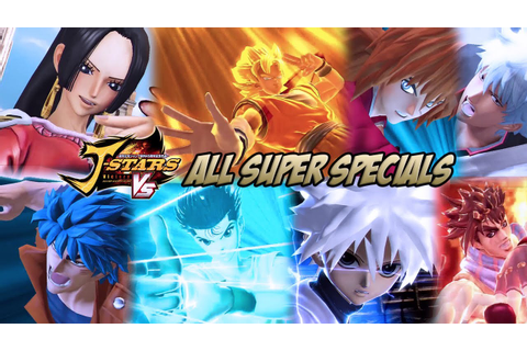 J-STARS Victory Vs - All Super Specials/Ultimate Attacks ...