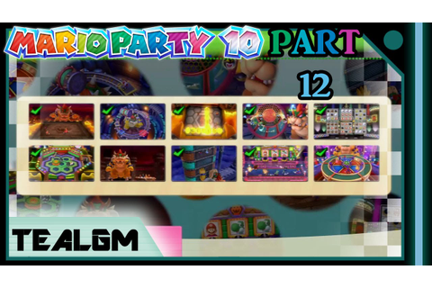 Mario Party 10 - Part 12: EVERY BOWSER PARTY MINIGAME ...
