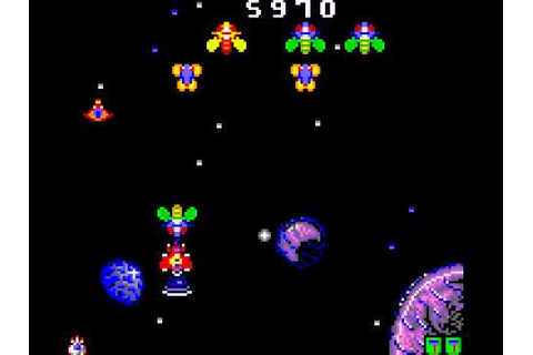 RetroGameNinja Plays: Galaga '91 (Game Gear) - YouTube