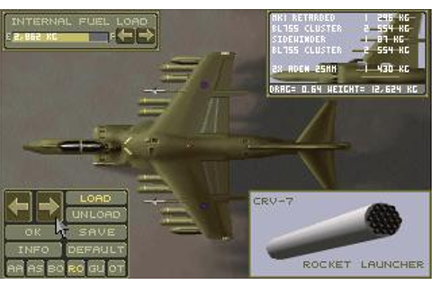 Harrier Jump Jet Download (1992 Simulation Game)
