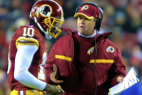 NFL Head Coach on Jay Gruden Leaving RG3 in Game: 'It ...