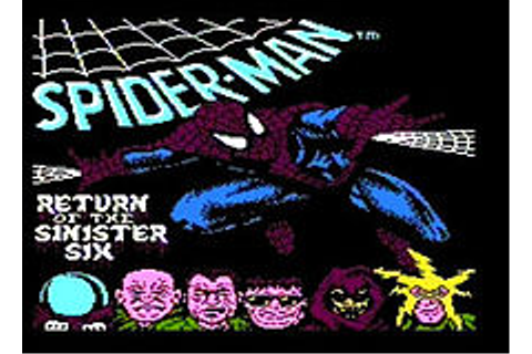 Spider-Man: Return of the Sinister Six — Википедия