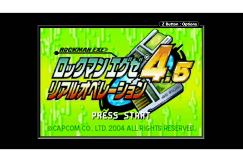 Rockman EXE 4.5 Real Operation #2 (Walkthrough, Japanese ...