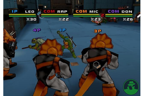 Teenage Mutant Ninja Turtles 3 Mutant Nightmare PS2 ISO ...