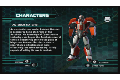 Transformers Prime The Game Wii U Gallery - YouTube