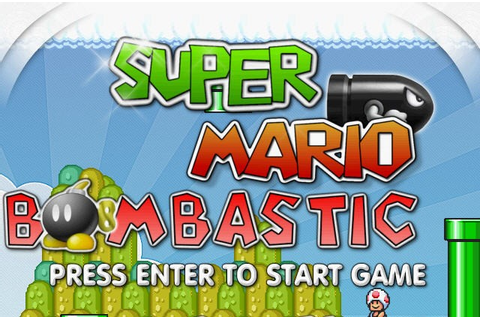 Super mario bombastic games - The best free game online 2012