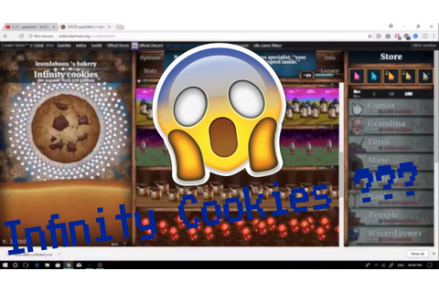 Cookie Clicker Full Game Finished + Save File ! - YouTube