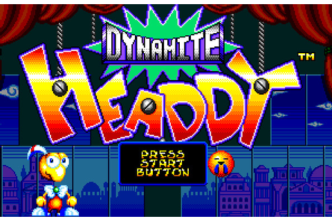 Dynamite Headdy - Video Games Long and Storied ...
