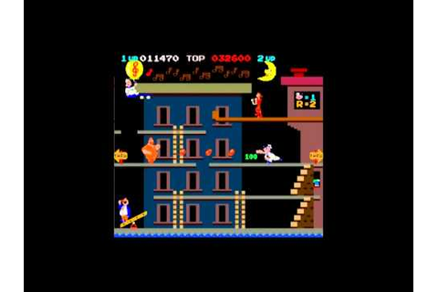 POPEYE 1982 Classic Arcade Game - YouTube