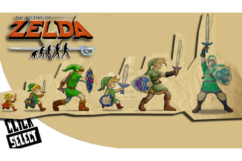 The Evolution of Graphics: Nintendo - The Legend of Zelda ...