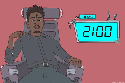21 Savage Heads New Animated Series on Instagram