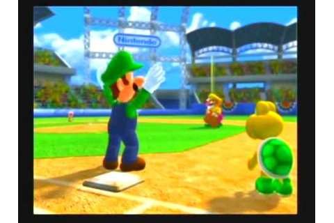 SUPER MARIO STADIUM MIRACLE BASEBALL part.1 - YouTube