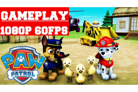 Paw Patrol On A Roll Gameplay (PC) - YouTube