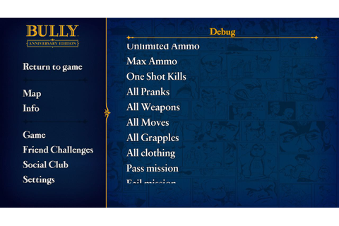 Bully: Anniversary Edition Hack download free without ...