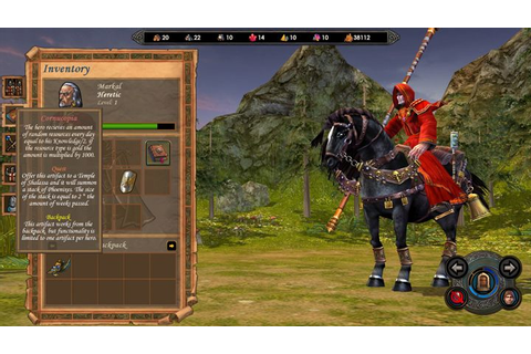 Heroes of Might and Magic V: Tribes of the East GAME MOD ...