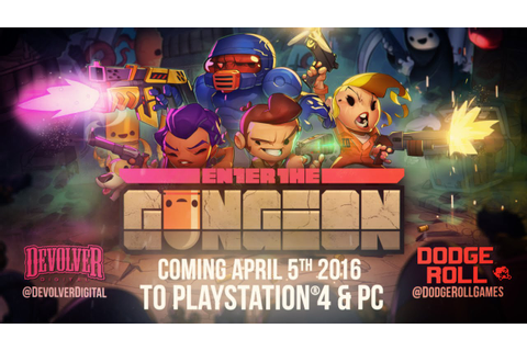 Enter The Gungeon - Gameplay Trailer - YouTube