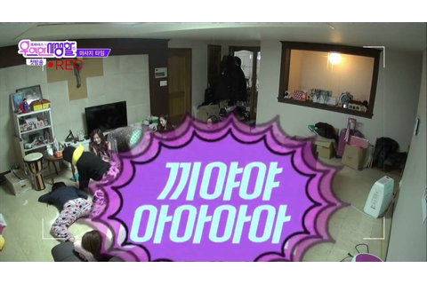 Twice's life in the dorm (it's a party) 160301 - YouTube