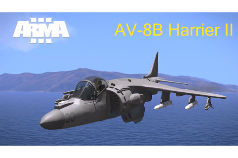 Arma 3 AV-8B Harrier II Trailer - YouTube