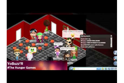 YoWorld Games - The Hunger Games | YoBuzz'R - YouTube