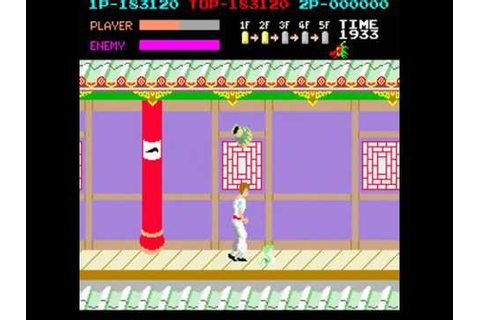 Kung Fu Master - 1984 Arcade game.avi - YouTube