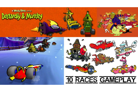 Wacky Races starring Dastardly & Muttley - 10 Races ...