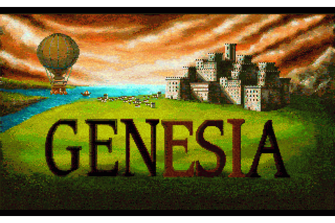 Genesia (1993) by Microïds Amiga game