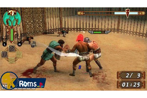 Gladiator Begins PSP ISO Free Download Playstation Portable
