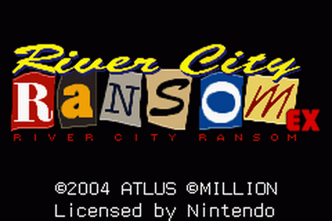 Play River City Ransom EX Nintendo Game Boy Advance online ...