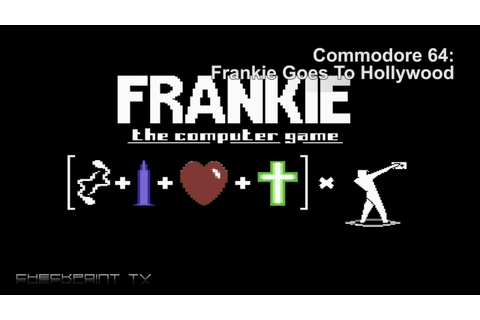 Games of Commodore 64 - Frankie Goes to Hollywood - YouTube