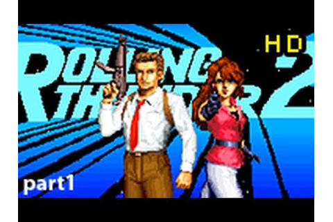 Rolling Thunder 2 Arcade CO-OP Complete Playthrough HD (pt ...