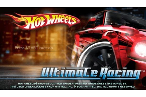 Hot Wheels Ultimate Racing PSP ISO | Free Download Game & Apk