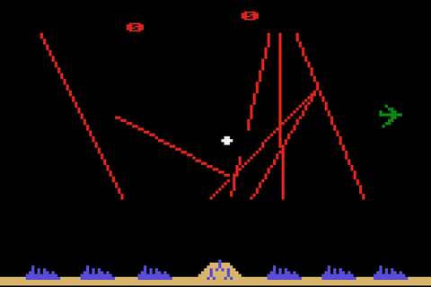 Arcade classic 'Missile Command' has a new high score for ...
