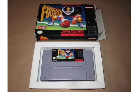Super Play Action Football (Super Nintendo SNES) Game in ...