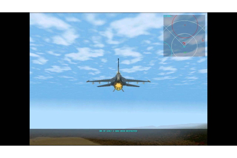 [Classic] F-16 Multirole Fighter - Gameplay #1 / Graphic ...