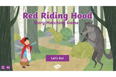 Little Red Riding Hood Pairing Game
